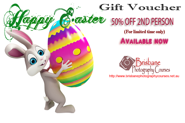 Easter gift voucher brisbane photography courses special easter gift voucher brisbane photography courses negle Images